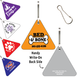 Clip-Its Leash/Collar Tags - Triangle Large