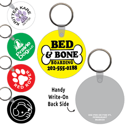 Ring-Its Leash/Collar Tags - Round